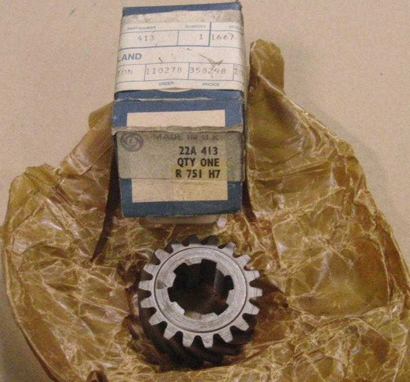 Austin Mini Cooper pinion - 22A413