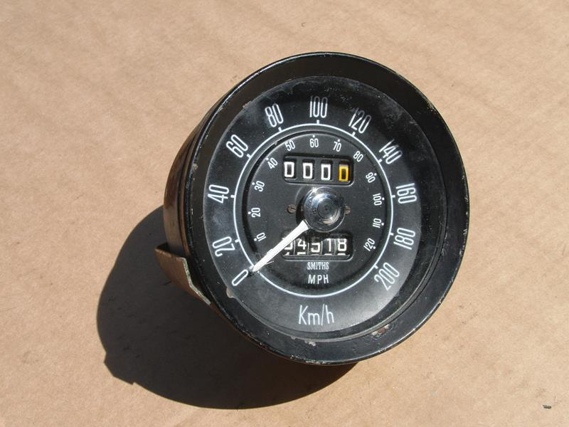 MGB and MGB-GT Conversion MPH to KM Speedo counter 2