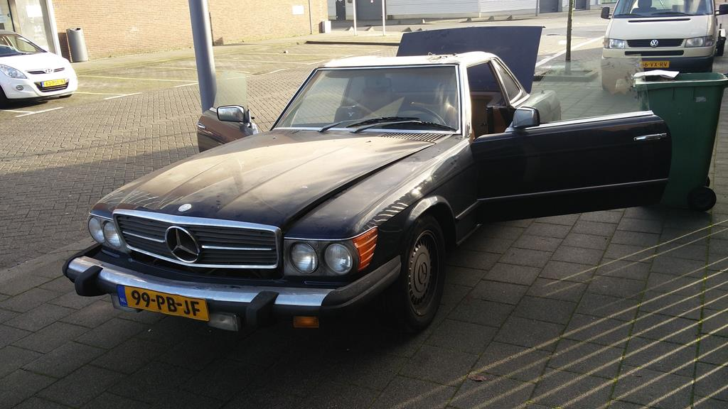 Mercedes Benz 450SL - 1979 - darkblue
